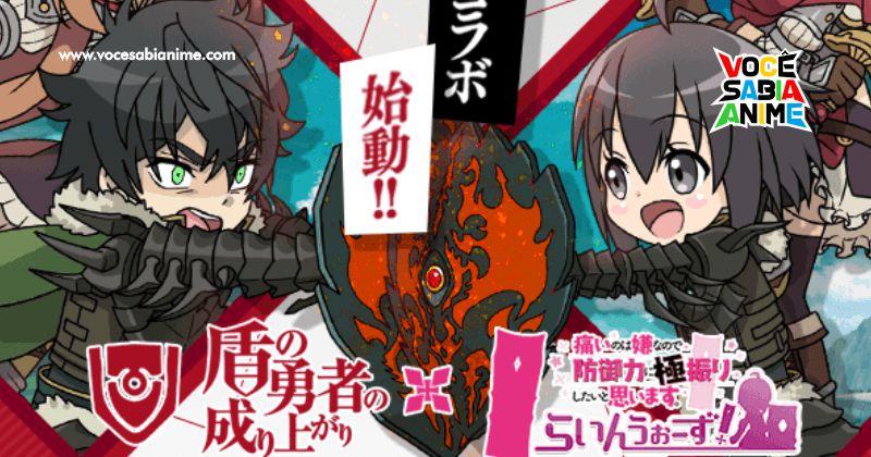 Game Mobile de BOFURI faz Maple se encontrar com Naofumi