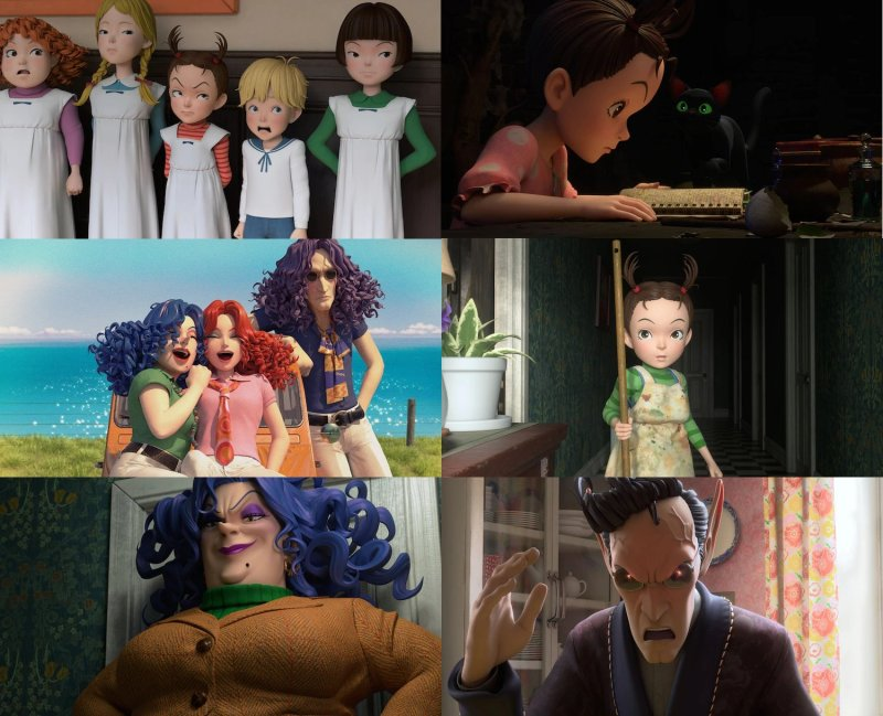 Primeiras imagens de Aya to Majo primeiro filme 3DCG do Studio Ghibli