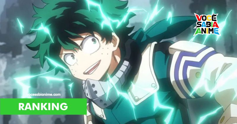 My Hero Academia é o 2º Show Mais Popular nos Estados Unidos