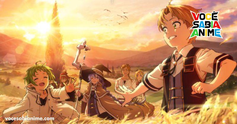 Animes Inverno 2021 - Mushoku Tensei