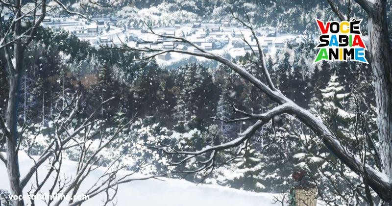 Fãs de Kimetsu estão visitando o Monte Kumotori