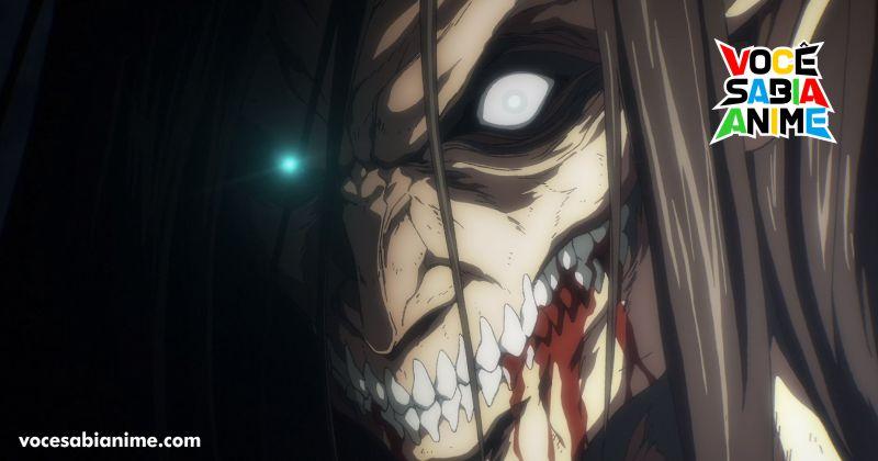 Crunchyroll explica porque Attack on Titan final não está no anime awards