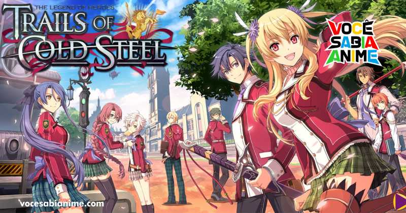 Anunciado anime de The Legend of Heroes Trails of Cold Steel