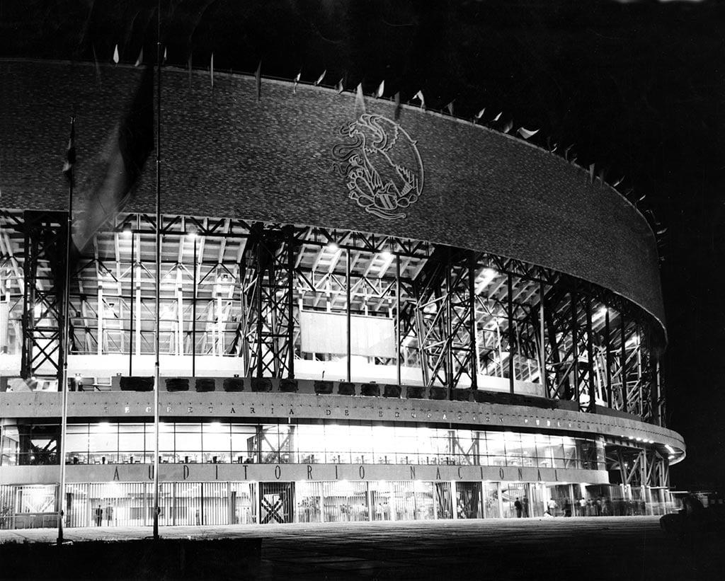 Así era el Auditorio Nacional antes de su remodelación