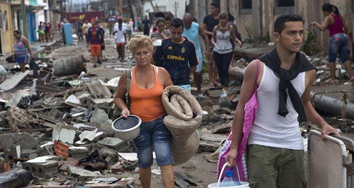 Efectos de Matthew en Cuba