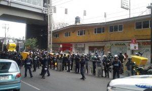 Operativo en Tláhuac. Foto de SSP de la CDMX