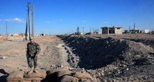 Aldea de al-Shej Ahmad, en Alepo, tras ser recuperada por el Ejército sirio. Cortesía de SANA