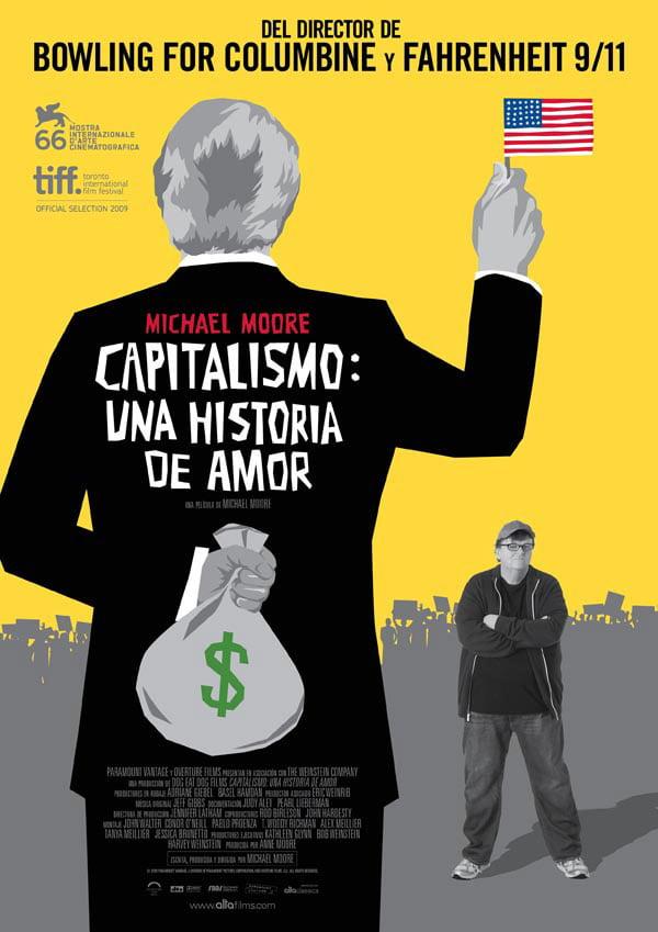Cartel de la pelìcula Capitalismo. Una historia de amor