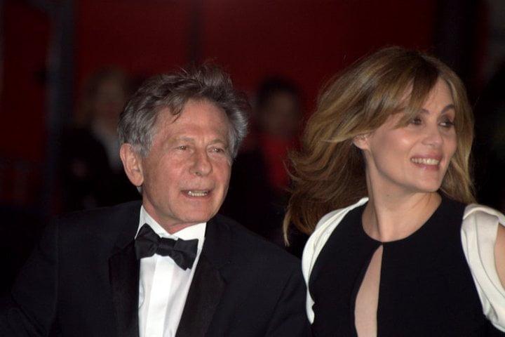 Roman Polanski con Emmanuelle Seigner Césars, en 2011. Foto: Wikimedia Commons