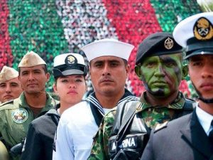 Fuerzas armadas mexicanas. (YouTube)