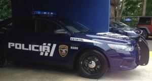 Patrulla de la Policía.
