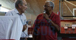 """José Antonio """"Toño"""" Morales y César Bocachica relataron varias de sus experiencias con los Leones de Ponce."""