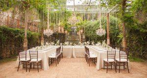 Es importante planificar todos los detalles de eventos como las bodas.