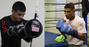 """Carlos """"Purin"""" Caraballo y Edwin """"Chin"""" Valentín pelearán el 17 de junio en Caguas. (Voces del Sur)"""