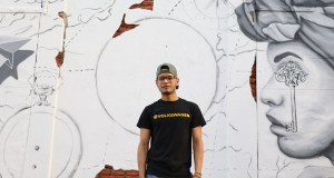 Danilo Lozada es un artista yaucano que debutará como muralista en Yaucromatic. (Voces del Sur)
