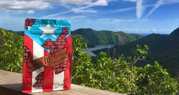 Latitude 18 Coffee se produce en Adjuntas, Puerto Rico. (Facebook / Latitude 18 Coffee)
