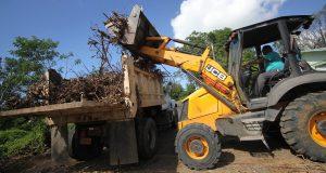 El Municipio de Salinas ya realizó rondas de recogido de escombros en comunidades como Aguirre, Coco, Palmas y Plena.