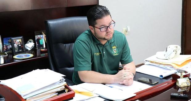 Nelson Torres Yordán, alcalde de Guayanilla. (Voces del Sur / Pedro A. Menéndez Sanabria)
