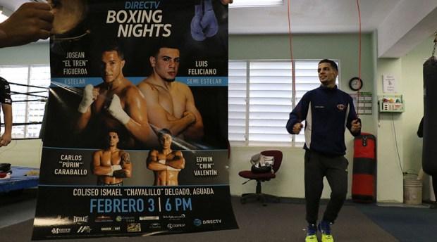 """Carlos """"Purin"""" Caraballo participará en el 3 de febrero de 2018 en el cartel que presentará la empresa Promociones Miguel Cotto en el Coliseo Ismael """"Chavalillo"""" Delgado de Aguada. (Voces del Sur)"""