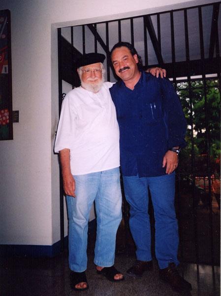 16.-Ernesto Cardenal y Ángel Juárez, la fuerza de la amistad