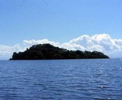 En la inmensidad del Lago de Nicaragua