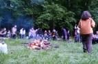 Veillée au feu de bois