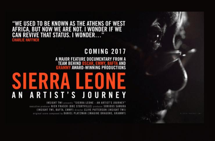 """""""Sierra Leone"""", film del giornalista Sorious Samura finanziato via crowdfunding e programmato per l'uscita nel corso del 2017."""