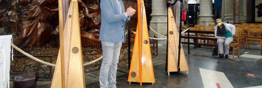 Harpenklankencascade in Sint-Andrieskerk