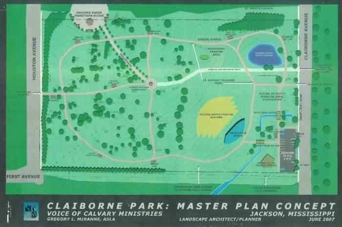 Claiborne Park Development Jackson Mississippi