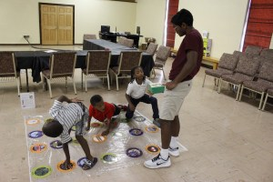 A Science 'Nano Game' version of Twister