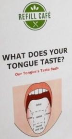 tongue taste