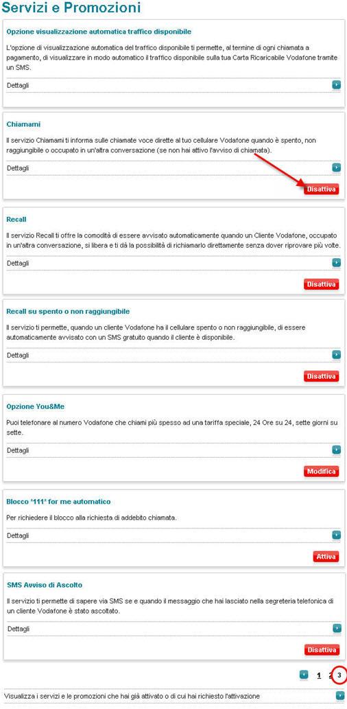 Vodafone e tim ai limiti della truffa servizi gratuiti for Disattivare servizi a pagamento tim