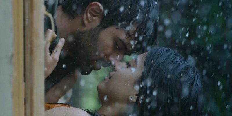 Rashmika Mandanna Kissing