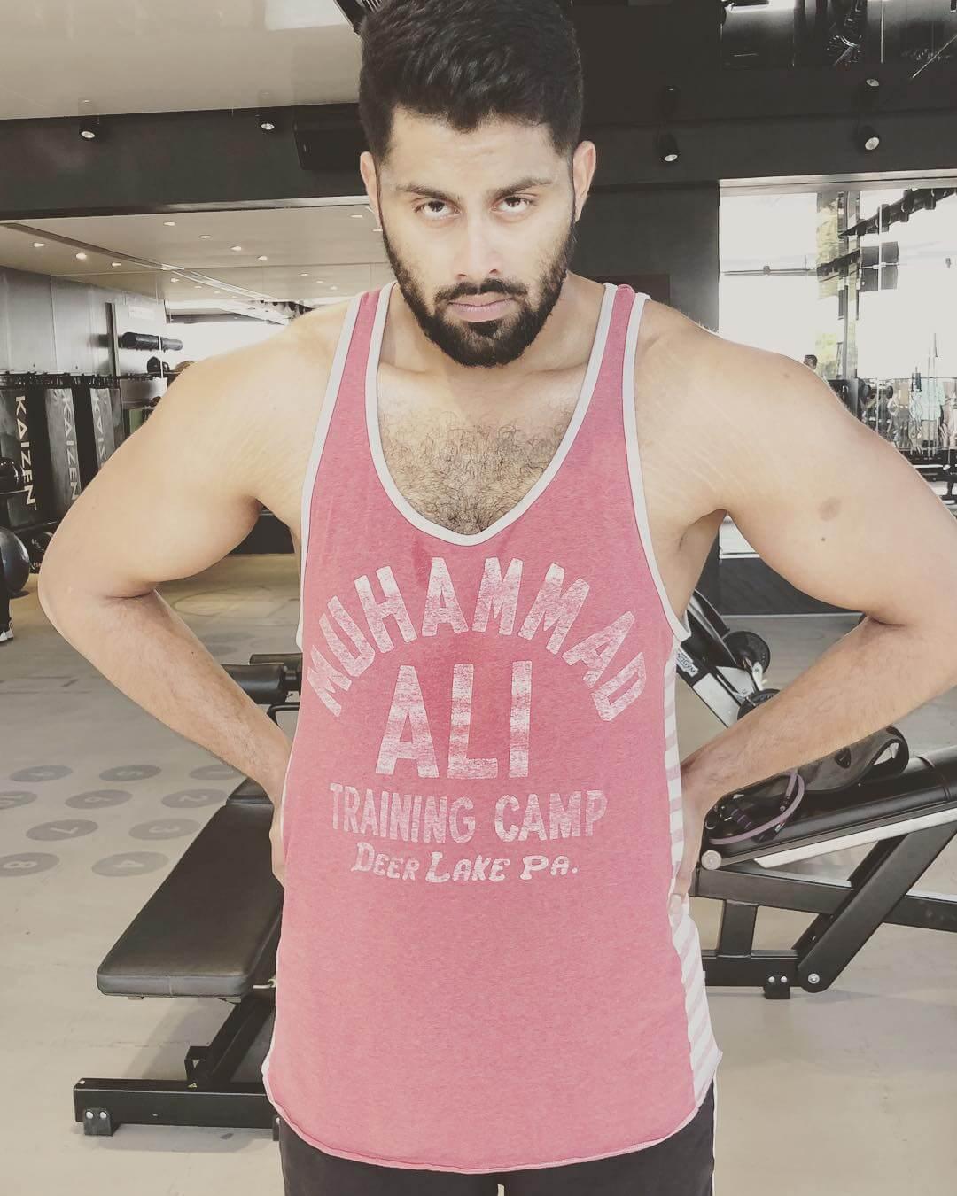 Abhishek At Gym