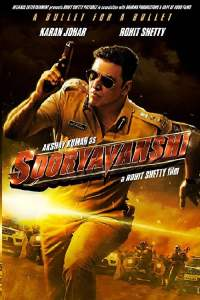 "Poster for the movie ""Sooryavanshi"""