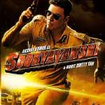 "Poster for the movie ""Sooryavanshi"""