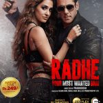 """Poster for the movie """"Radhe"""""""