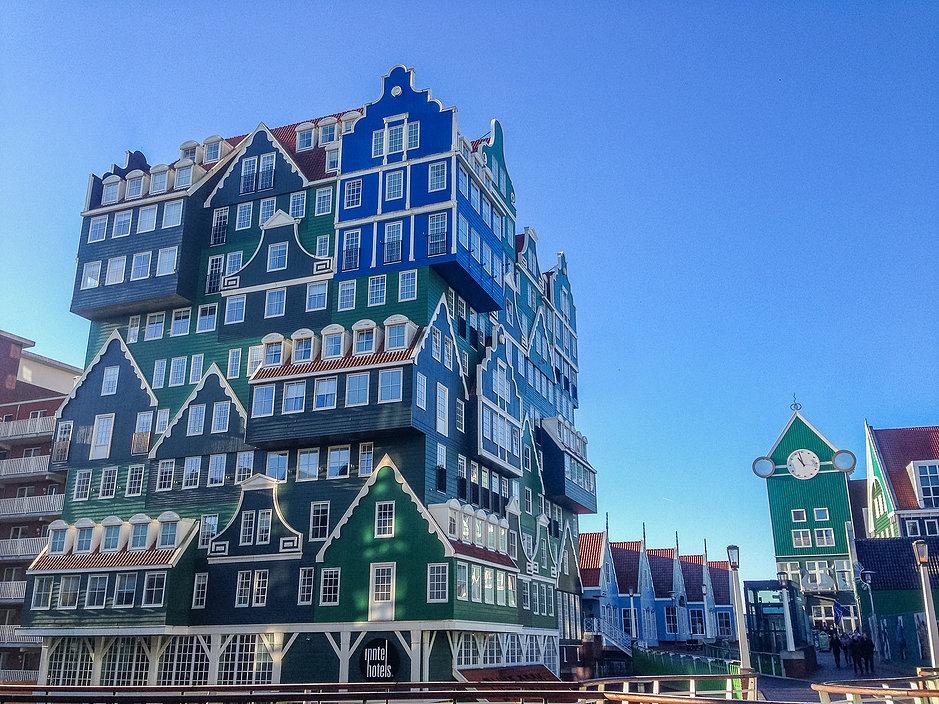 Куда поехать из Амстердама? - Заандам (Zaandam)