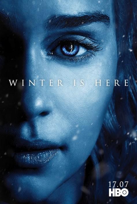 Gra o Tron - Siódmy sezon - Plakat - Dany
