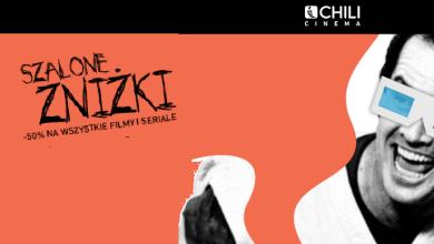 Photo of Tylko dziś: szalone zniżki w Chili Cinema. Mamy dla Was kod!