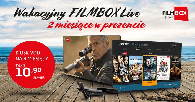 Filmbox Live za darmo dla klientów Jambox