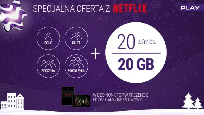Wideo Non Stop w sieci Play. Bez transferu za serwisy Netflix, HBO GO< Showmax i RedBull