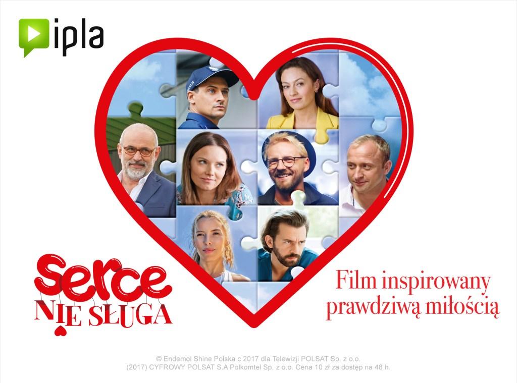"""Zobacz film """"Serce nie sługa w internetowej telewizji IPLA"""