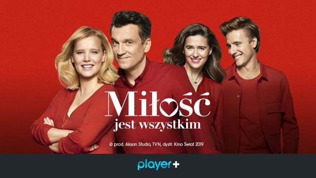 Miłość jest wszystkim, film vod, koncert tvn, tvn, premiera vod, player.pl