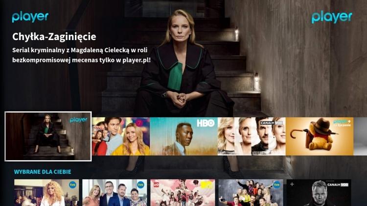 Player.pl, Player nowa aplikacja, Samsung Smart TV, Ultra HD 4K