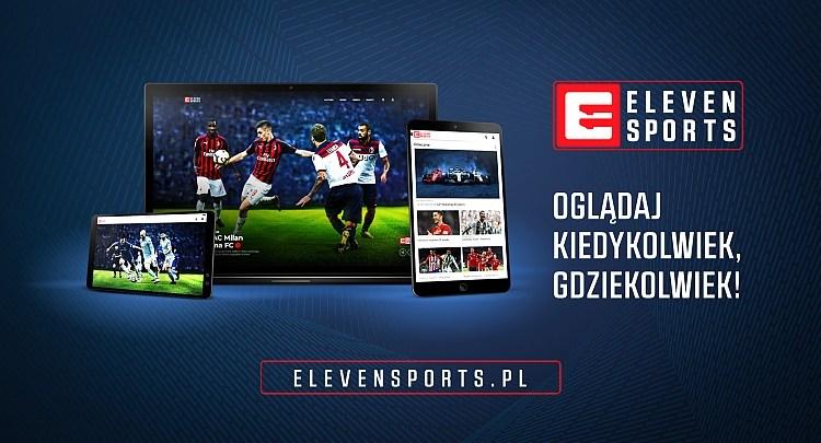 Nowa szata graficzna Eleven Sports, Eleven Sports 4 online, Sport VOD