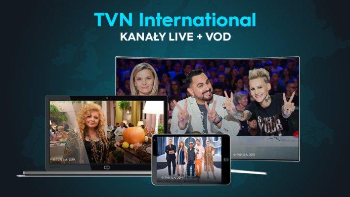 Teraz w pakiecie TVN International dostępne są materiały VOD