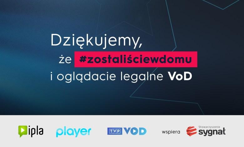 Photo of #zostanwdomu i oglądaj legalnie VOD