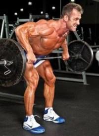 barbell row fitnessoefening van de week