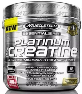 beste creatine platinum micronized creatine